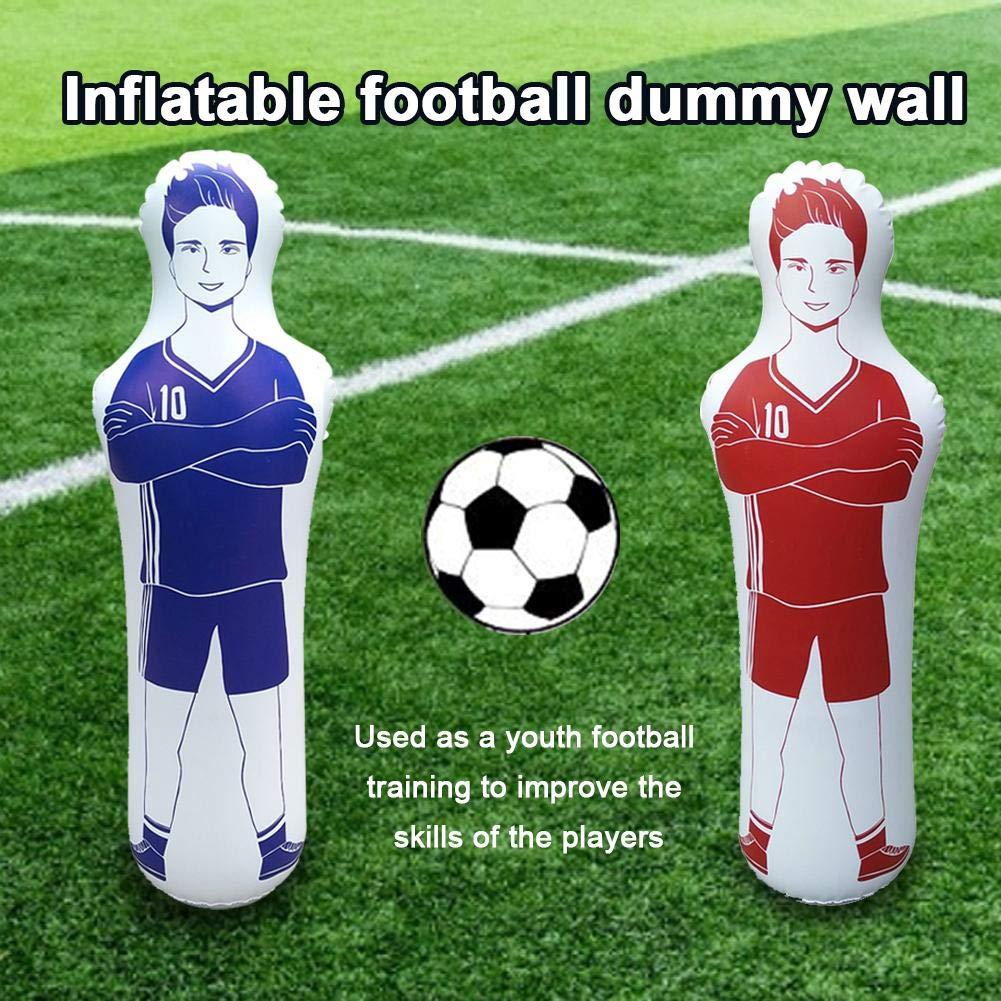 Welltobuy - Muñeca Hinchable de Entrenamiento de fútbol, 160 cm ...