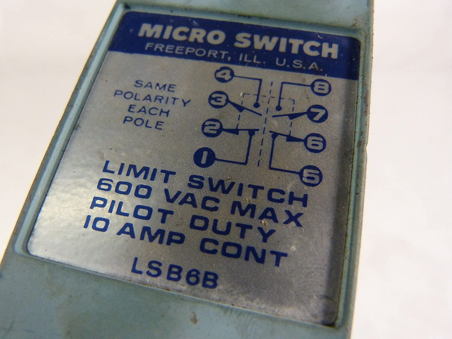 uxcell XURUI Authorized XV-156-2C25 DPDT 2NO 2NC 6-Termimals Short Roller Lever Type Microswitch Action Switches