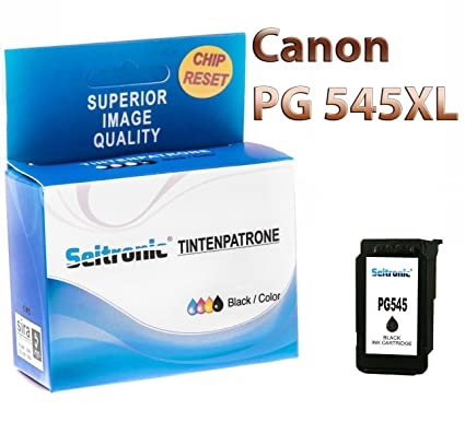 1 x Impresora tinta Seitronic para Canon PG-545 XL Negro ...