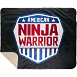 Amazon.com: American Ninja Warrior Sherpa Blanket - 37