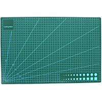 XIKUO 45x30cm Professional Self Healing Double Sided Durable Non-Slip PVC Cutting Mat Great for Scrapbooking, Quilting…
