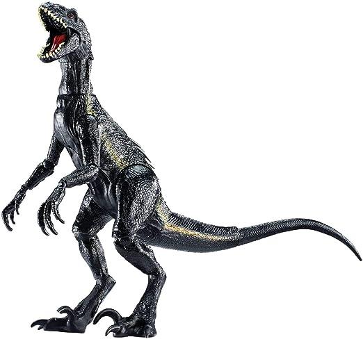 Mattel FVW27 - Jurassic World Indoraptor Dino Figur, beweglich