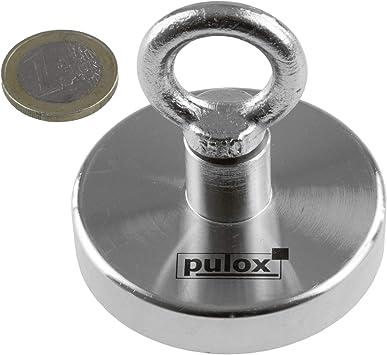 EXTSUD 16 Stück Neodym Magnete mit Aufbewahrungs Box für Pinnwand,Whiteboard,Küh