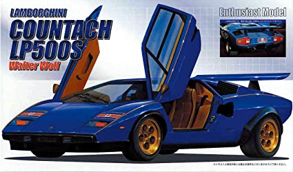 1 24 Enthusiast Model Series No 5 Walter Wolf Countach Lp500s Japan