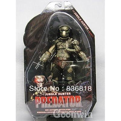 "Dream practitioner Neca Predator Series Classic Jungle Hunter 25Th Anniversary Version 8"" Action Figure: Toys & Games"