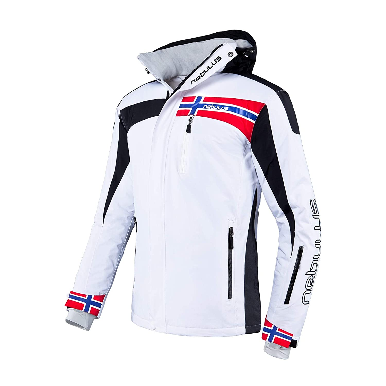 Nebulus Herren Skijacke Freestyle wei/ß XL