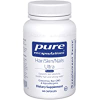 Pure Encapsulations - Hair/Skin/Nails Ultra - Hypoallergenic Supplement Supports...