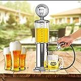 Mini máquina dispensador de cerveza potable buques único Bomba Pistola con capa transparente diseño Gas Station Bar para bebe