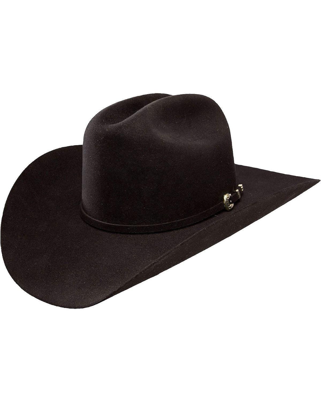Stetson Men's High Point 6X Fur Felt Cowboy Hat Black 7 3/8
