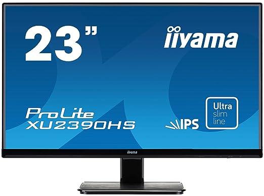 """3 opinioni per iiyama XU2390HS-B1- Monitor LED da 23"""" (58,4 cm) con DVI e VGA, tempo di"""
