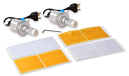 Led Replacement Headlight Bulbs >> Amazon Com Bright Earth Led Replacement Headlight Bulbs