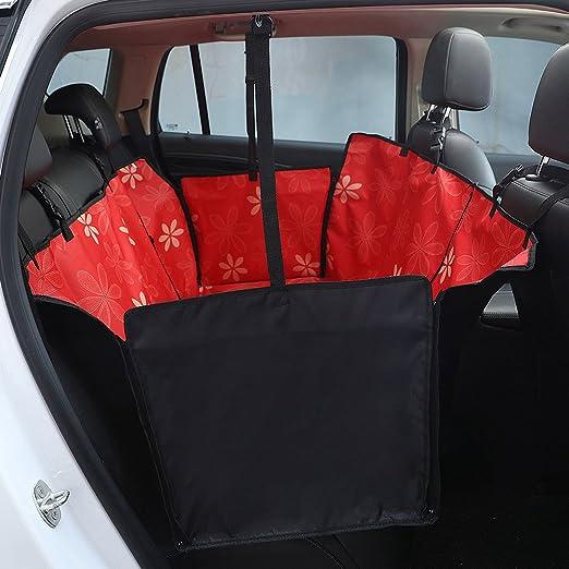Funda para asiento trasero de mascota para coches, asientos ...