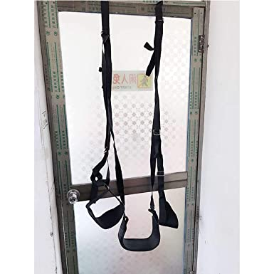 Home Womens Sexy Bdsm Bondage Door Swing Adult Sm Love Game Fetish Sex Bondage Set Leg Open Spreader Adult Games Sex Toys For Women Clients First