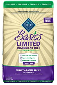 Blue Buffalo Basics Limited-Ingredient Turkey & Potato for Adult Dogs