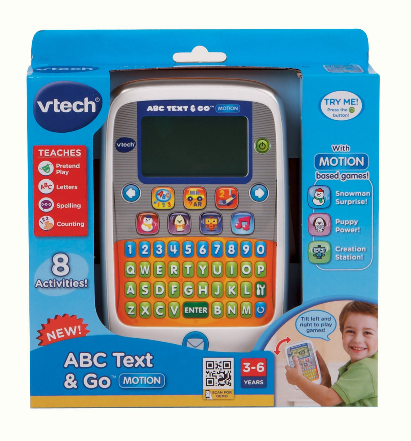 VTech ABC Text and Go Motion Orange