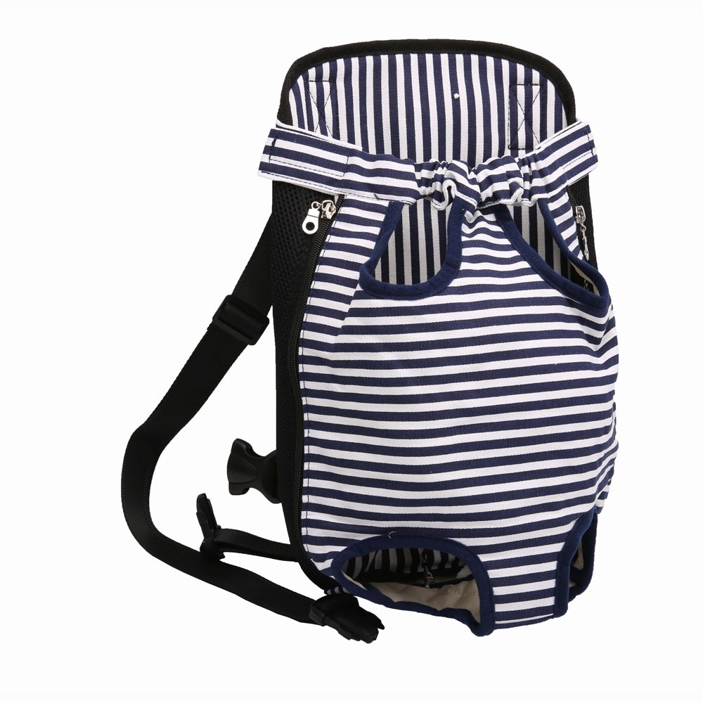M FashionMall Pet Carrier Backpack for Dogs & Cats, Legs Out Front-Facing Bag for Puppies & Kitties (M)
