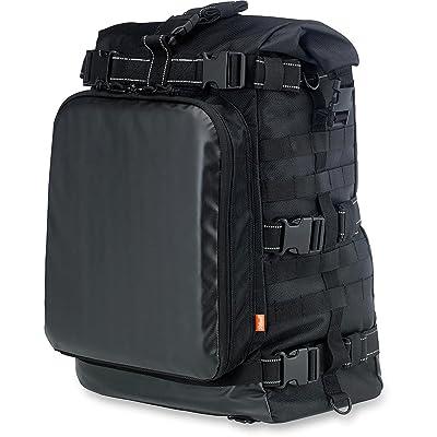 Biltwell Inc. Black EXFIL-80 Bag BE-XLG-80-BK: Automotive
