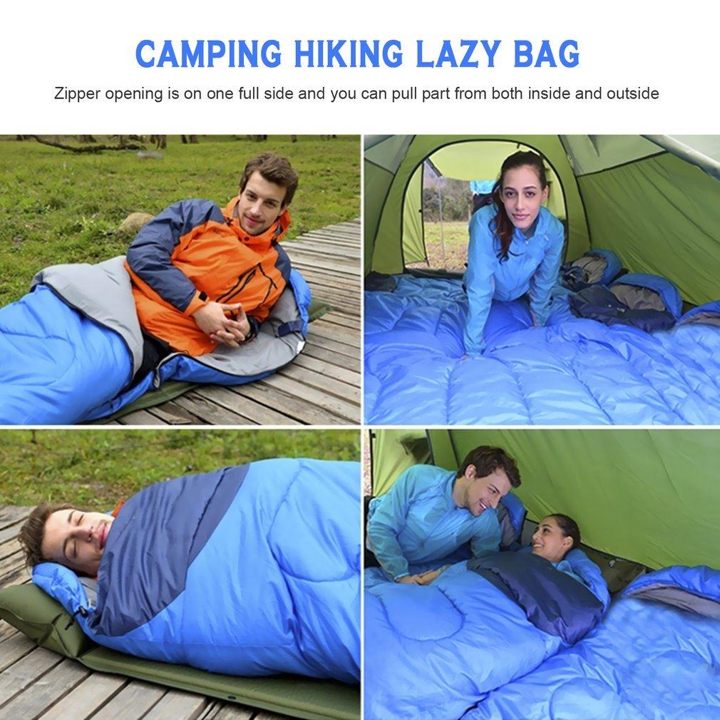 Terra Hiker Schlafsack Ultraleicht H/üttenschlafsack Outdoor Camping Schlafs/äcke Ideal f/ür Camping und Trekkingtouren