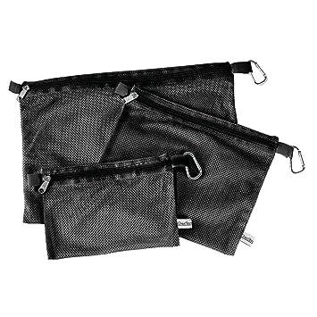 Amazon.com: Tidy malla de bolsos bolsas de almacenaje negro ...