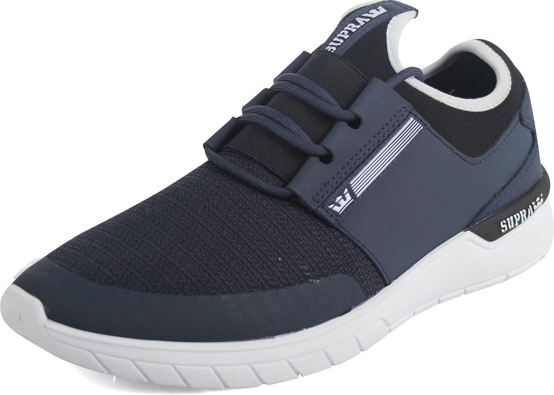 Supra Flow Run Skate Shoe B074KJ5PWC 8 M US|Navy-white