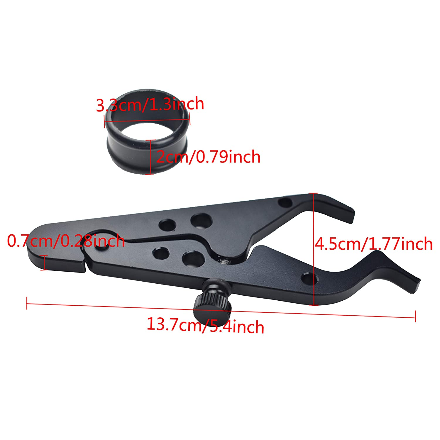 CHCYCLE Motorcycle Cruise Control Assist Throttle Mounted Handlebar Speed Cruise Control Black