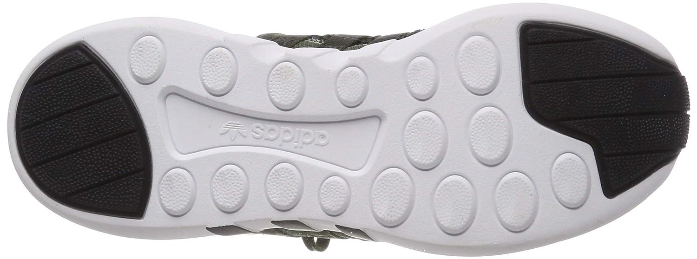adidas Herren EQT Support ADV Sneaker Low Hals, schwarz, 41 1/3 EU Mehrfarbig (Carnoc/Ftwbla/Negbás 000)
