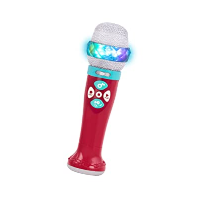 Battat – Musical Light Show Microphone – Light-Up Sing-Along Mic with 5 Songs and Record Functions for Kids 2 Years + (Bluetooth): Toys & Games