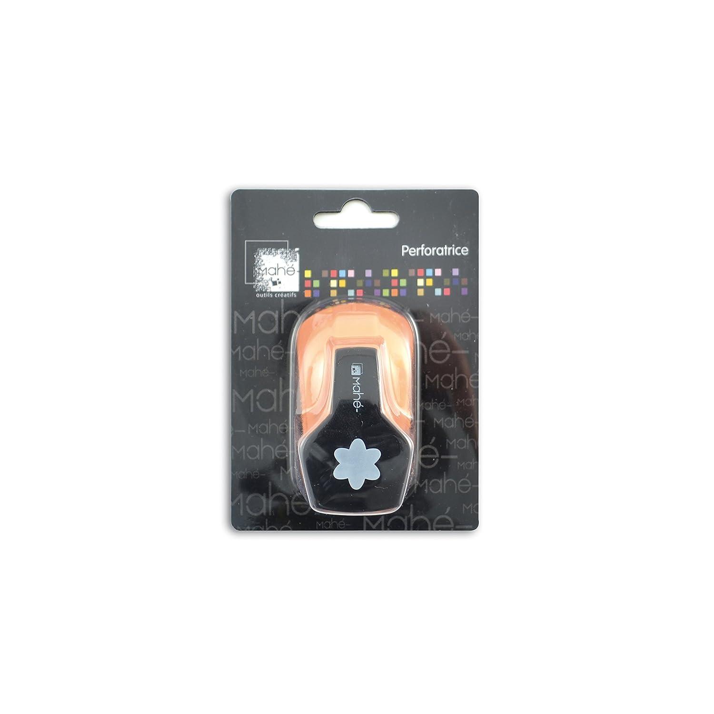 Toga OPXA20 Mini perforatrice motif Fleur Plastique Noir 9 x 12 x 4, 5 cm