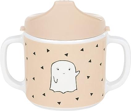 L/ässig M/élamine Tasse d/´Apprentissage//Sippy Cup Little Spookies Peach