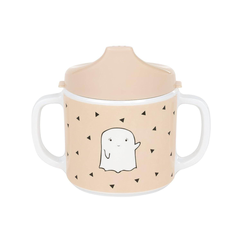 L/ÄSSIG Tasse Trinklernbecher Schnabeltasse Kinder Baby Kleinkind mit Henkeln rutschfest sp/ülmaschinengeeignet Melamin//Cup Little Spookies