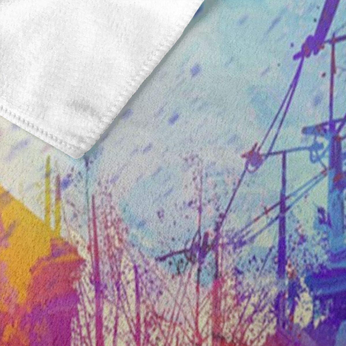 huatongxin Parkour Serviette de Bain Serviette de Plage Serviette de Bain Absorbent Soft 130 x 80 cm