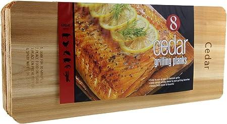 Set of 3 Cedar Grilling Planks