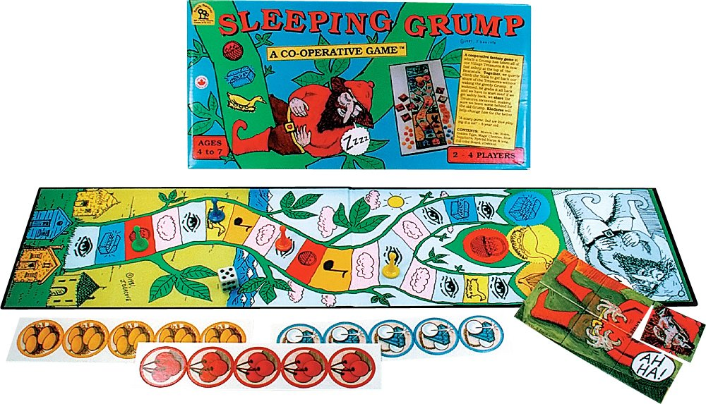 Family Pastimes Sleeping Grump - A Co-operative Game