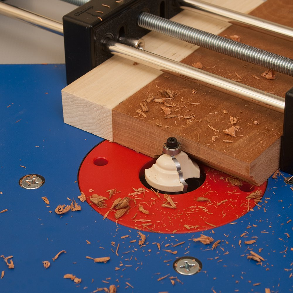 Small Stock or Piece Holder For Use With Router Tables. Safely Cut Smaller Pieces of Wood. Works With Any Router Table and Is Ideal For Free Hand Work by Peachtree Woodworking Supply (Image #5)