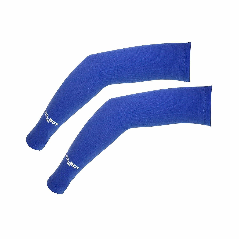 Compression Arm Sleeve For Men Women UV Sun Protection Aqua-X Fabric 1 Pair