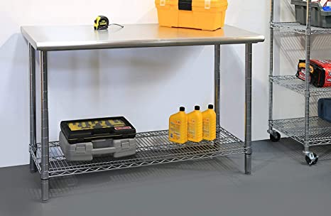 Wondrous Amazon Com Portable Workbench With Storage For Garage Theyellowbook Wood Chair Design Ideas Theyellowbookinfo