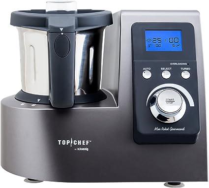 H. Koenig topc428 Robot culinario 1300 W: Amazon.es: Hogar