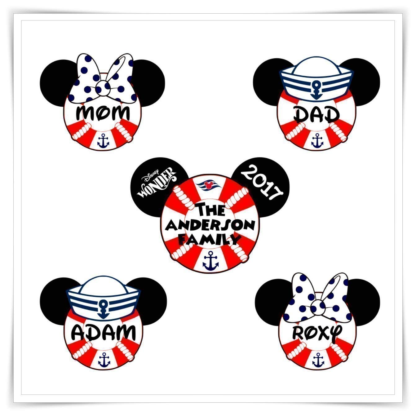 image about Disney Cruise Door Decorations Printable named : Custom-made Disney Impressed Doorway Magnet. Custom made
