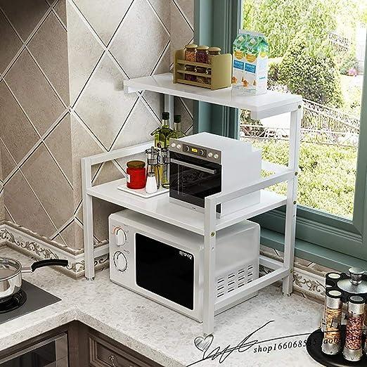 ACZZ Estante de cocina \ Horno de microondas Rack Horno de ...