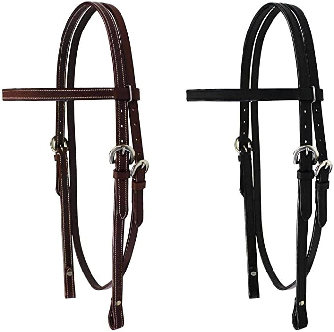 Details about  /Lot 50 x 1 New Empty Channel Leather Bridle Browband All Size 6 MM Free Shipping