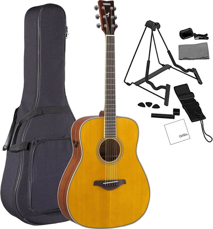 Yamaha FG-TA VT guitarra acústica Dreadnought acústica clásica con ...