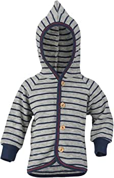 250008 Lilano 100/% Organic Merino Wool Baby Jacket with Hood Made in Germany.