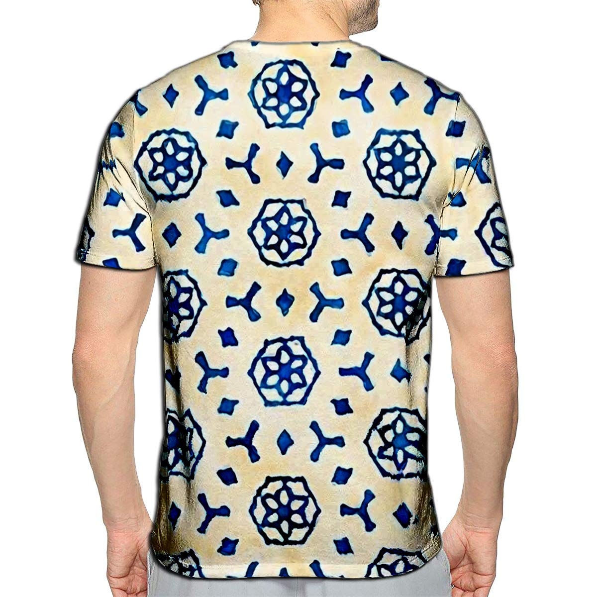3D Printed T-Shirts Colibri and Flowers Creative Botanical Height Detailed Short Sleeve Tops Tees