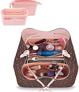 LEXSION Organizer,Bag Organizer,Insert purse organizer with 2 packs in one set fit