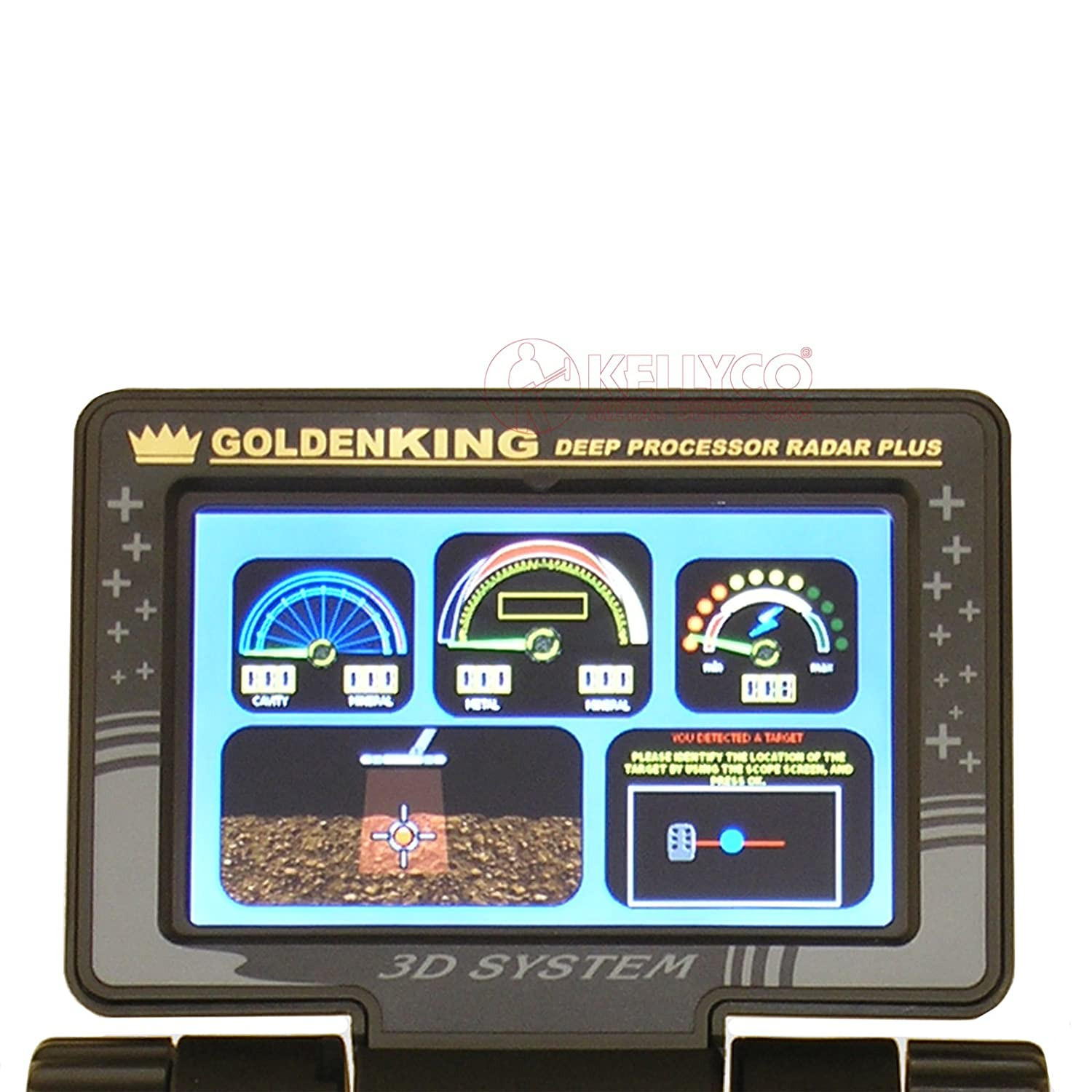 Golden King DPR Plus Nokta Detector de Metales Profesional: Amazon.es: Jardín