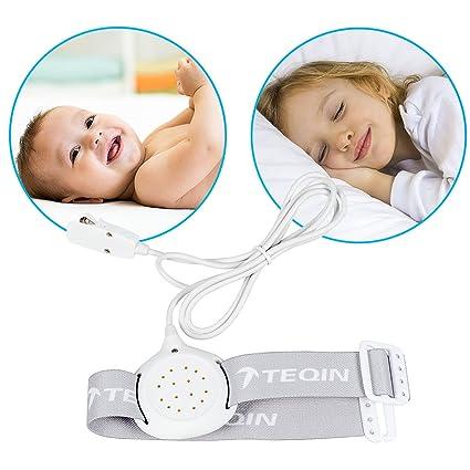 TEQIN Full-Featured Children Último sensor de humedad con sensor de humedad con sonido y vibración para niños Niños niñas Unisex Potty Trainning ...