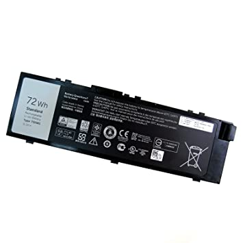 Dentsing T05W1 TO5W1 72Wh battery for DELL Precision 7520 / 7510
