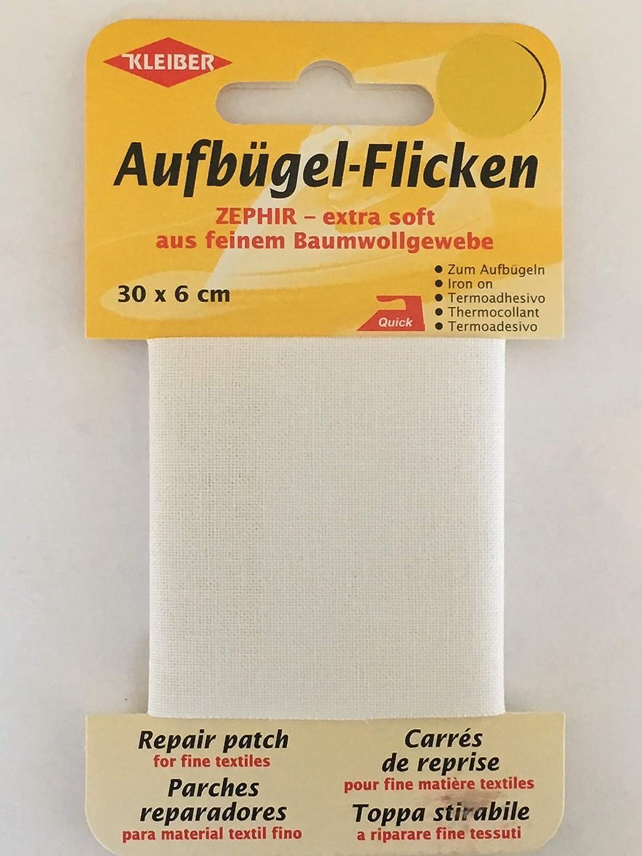 Aufbügel 310-07 Flicken 30 x 6 cm dunkelblau von Kleiber Art.-Nr