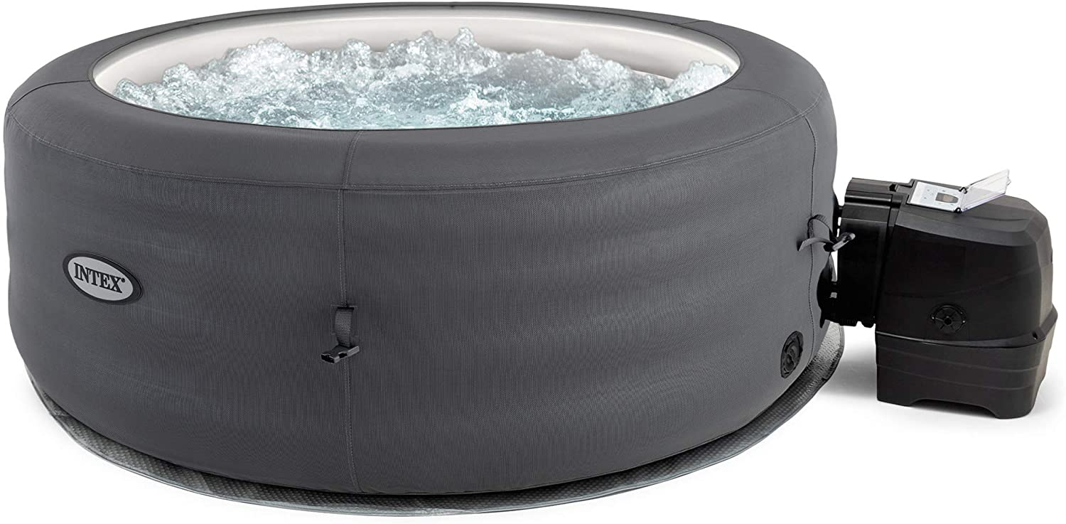 Outdoor Portable Inflated Round Heated Hot Tub SPA
