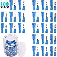 Kinstecks 100PCS Kit de Conectores de Bala 16-14
